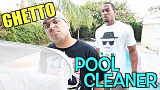 GHETTO POOL CLEANER