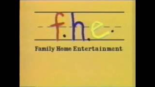 Family Home Entertainment logo (1985-91; Homemade)