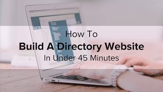 How To Create A Directory Website Under Minutes
