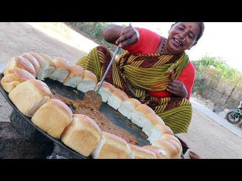 Pav Bhaji Village Style || Grandma's Pav Bhaji || Desi Kitchen
