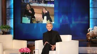 Ellen in Adele's Ear