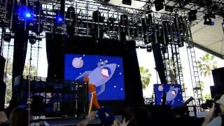 DJ Lance Rock (Yo Gabba Gabba) Live Performance @ Coachella 2010 Part 1/4