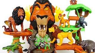 Lion Guard! Rescue my friends from hyena and crocodile in the Rise of Scar! - DuDuPopTOY