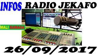 Radio Jekafo, 26/09/2017
