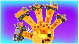 Transformer | Finger Family song | Vehicle songs for kids