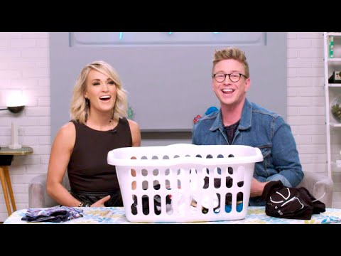 'The Tyler Oakley Show': Dirty Laundry with Carrie Underwood