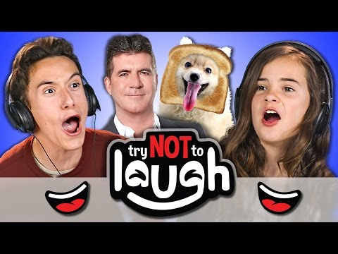 Try to Watch This Without Laughing or Grinning 48 REACT