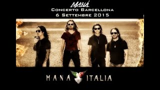 Mana en Vivo - Cama Incendiada Tour - Barcelona 2015
