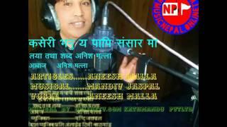 Kasari vanu yo papi sansar ma by Aneesh malla