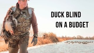 How To Build A Duck Blind Fast, Cheap, and Effective