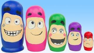Candy Surprise Toys Oddbods Pig Disney Princess Superhero PlayDoh Finger Family Nursery Rhymes