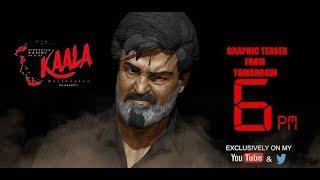 Kaala | Graphic teaser| Rajinikanth,Huma Qureshi | Dhanush,Pa.Ranjith | Wunderbar Studios