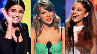 Teen Choice Awards 2014 - Winners - Selena Gomez, Ariana Grande, Taylor Swift, One Direction & More