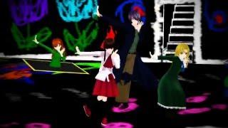 [MMD] Bad End Night - [Ib,Mary,Garry]