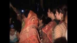 Bangladeshi village marriage ceremony