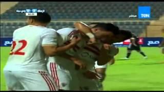 اهداف مباراة الزمالك و وادى دجلة 2   0     الدورى المصرى 2015   2016   YouTube