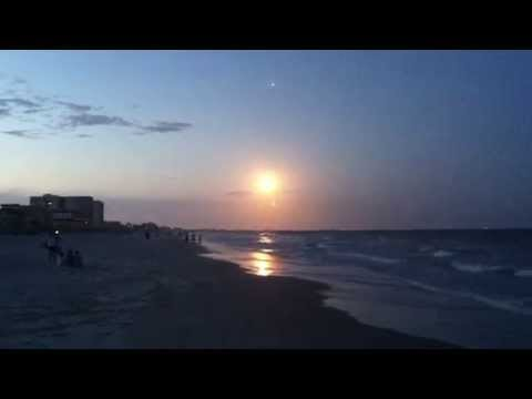 Delta IV WGS 6 Rocket Launch Seen From Cocoa Beach