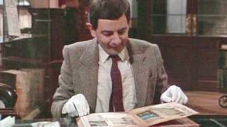 Mr Bean - Library destruction