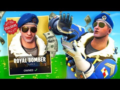 The MOST EXPENSIVE Skin In Fortnite Battle Royale