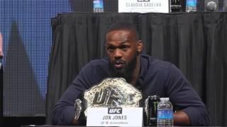 Daniel Cormier, Jon Jones verbally battle at UFC Undisputed presser