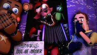 [SFM/FNAF6/HELLO NEIGHBOR/BENDY] ROCK STAR FOXY STINKS !10 Animations Funny And Crazy
