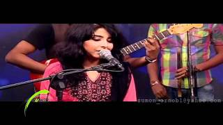 Dolna by Arefin Rumey ft  Porshi (Studio Live HD)   www DeshiBoi com   Bangla Music Video