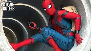 Spider-Man Shows Off His Webbing Skills in new Homecoming Trailer