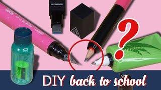DIY Back To School ★ Tự làm bộ dụng cụ học tập bằng mỹ phẩm + Giveaway   Tiny Loly