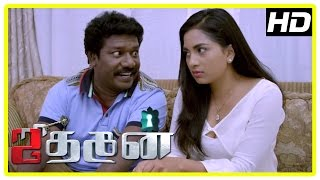 Jithan 2 movie Scenes | Jithan Ramesh tries to locate Srushti's lover | Karunas | Mayilsamy