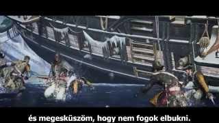 Assassin's Creed Rogue   Assassin Hunter Gameplay Trailer Magyar Felirattal