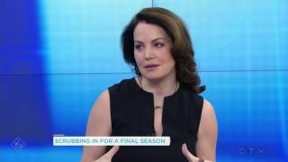 Interview: Erica Durance Promoting Saving Hope Season 5 - Your Morning
