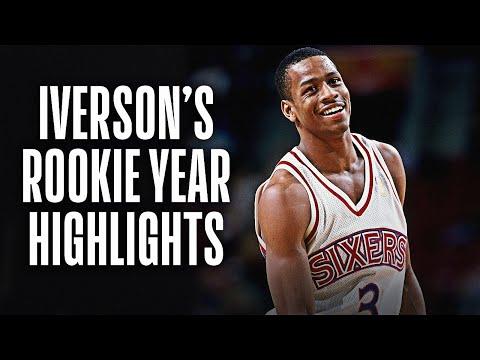 NBA Vault: Allen Iverson Rookie Year Highlights