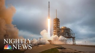 SpaceX Announces Plan To Send Two Private Citizens To The Moon In 2018 | NBC Nightly News