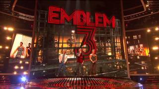 Emblem3 X factor 2012 (All songs with edited and improved sound) (HD 720)