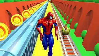 Spiderman Subway Surfers 3D