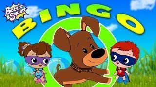 Bingo Dog Song   Bottle Squad Nursery Rhyme   Superheroes Team   Rhymes For Kids   Baby Videos