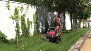 Naked Truth Mom lawn workout