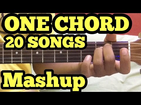 Xxx Mp4 1 Chord 20 Guitar Songs MASHUP Lesson Bollywood Hindi Songs Mashup One Chord Sidharth Salathia 3gp Sex