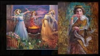 224) سیمای دو زن (از استاد سعیدی سیرجانی )  - من زئوس هستم - I am Zeus
