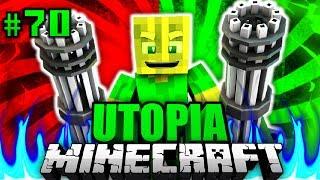 ICH werde ZUM ROBOSOLDAT?! - Minecraft Utopia #070 [Deutsch/HD]