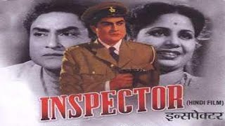 Inspector 1956 | Hindi Movie | Ashok Kumar, Geeta Bali, Pran,  Mehmood  | Hindi Classic Movies