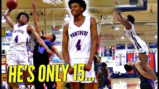 The BEST 15 Year Old In AMERICA, Jalen Green!! He