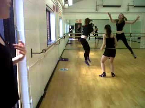 Natasha Haynes: dancing with the girls xxxx
