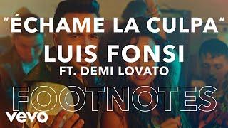 """Luis Fonsi - """"Échame La Culpa"""" Footnotes"""