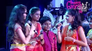 'Premaloka' film songs medley by Zee TV Saregamapa Lil Champs @ 54th Bengaluru Ganesh Utsava