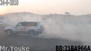 استعراض مكس في عوافي 24 9-2010 Arab UAE burnout Drifting in Awafi HD