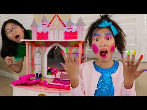 Xxx Mp4 Wendy Pretend Play Dress Up New Kids Make Up Toys 3gp Sex