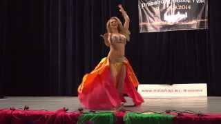 Vágó Szilvi - Professional Raqs Sharqi 2nd place - Pressburg Dance Fest
