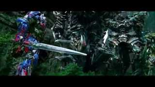 Age of Extinction | Grimlock Scenes [HD]