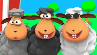 Baa baa mouton noir + 30 min comptines pour maternelle Tinyschool Français